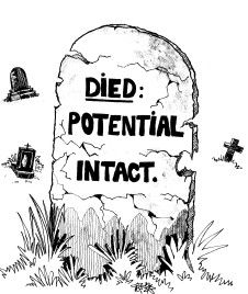 7. Died Potential Intact
