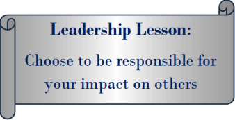 Lesson #3 Choose to be responsible