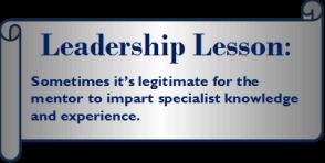 Mentor lesson 3