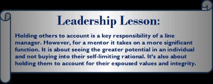 Mentor lesson 5